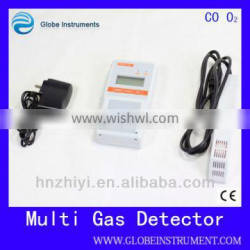 2015 Newly Portable oxygen detector O2=0-25% VOl and alarm with Probe