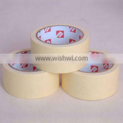 high quality textured paper tape/masking tape jumbo roll