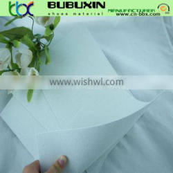 Non-woven chemical sheet toe puffs or back counters