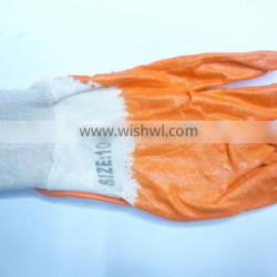 PU coated working gloves/safety working gloves