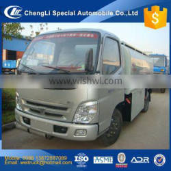 china good price 120hp engine 6 wheels 8000 liters oil tank truck for hot sale