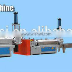 China hot sale DEKE Double shaft plastic EVA granulating line(water cooling strand)