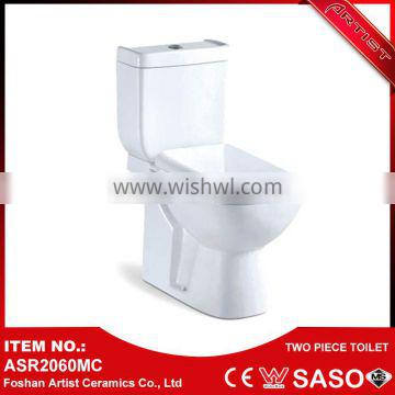 Top Quality Automatic High Volume Two-Piece Japan Toilet