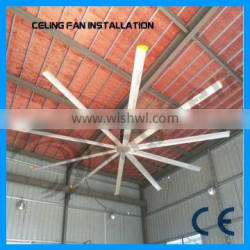 Alibaba supplier 22ft hot sale low noise Industrial electric ceiling fan