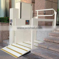 Wheelchair platform stair lift, hydraulic chain lifting system electric wheelchair platform