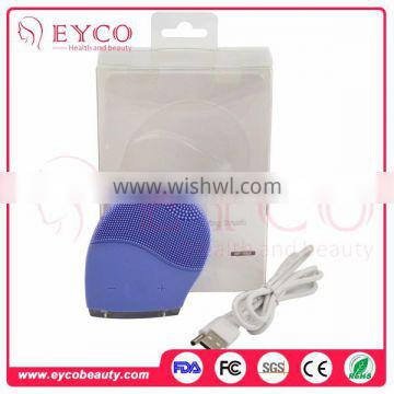 Professional China Abs Plastic The Newset Soft Silicone Liner Face Exfoliator Facial Cleaning Brush Pads Oem