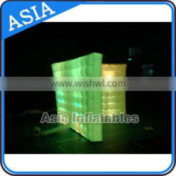 2016 Qualified Made In China Advertising LED Inflatable Lighting Wall for Event