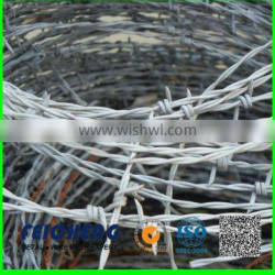 China supplier galvanized barbed wire wholesale