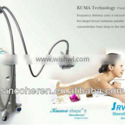 Kuma shape RF slimming massage machine. weight loss machine TGA approved,instant face lift with Medical CE .TGA