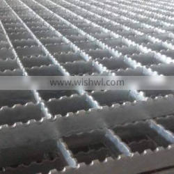 Heavy duty trench cover plate steel grating / hot dip galvanized stair tread steel grating