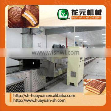 industrial cup cake extruder double row cake machine