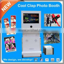2014 new product Photo Booth With 3D Effect & Green Screen