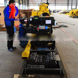 Quarry mine borehole core water well drilling rig borewell drilling cost