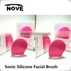 2016 face cleansing brush, sonic vibrate facial brush beauty equipment