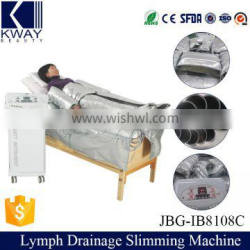 IB-8108C Pressotherapy infrared equipment/ lymphatic drainage machine/Fat loss machine for Beauty salon equipment