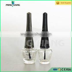 Wholesales 2016 new product empty gel nail polish bottle with brush and cap