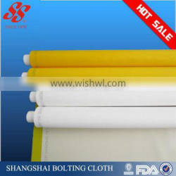 white yellow screen printing mesh for printing screen 80t/200mesh