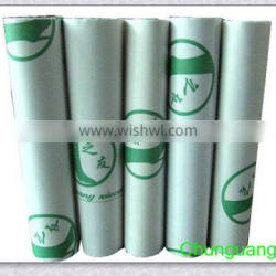 Non-woven fusible interlining fabric for shoes