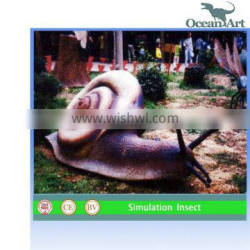 Lovely Simulated Snail For Amusement Park