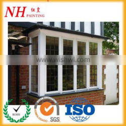 Ral 9006 aluminium windows white powder coating