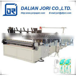Automatic tissue roll perforated household embossed rewinding toilet paper making machine for samll business