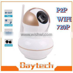 1.0 MP HD p2p night vision home security camera