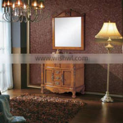 Latest Wooden Furniture Designs Classical Bathroom Cabinet