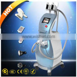 Latest Technology Loss Weight RF And Laser Slimming Machine 10MHz With Cavitation Ultrasonic Contour 3 In 1 Slimming Device