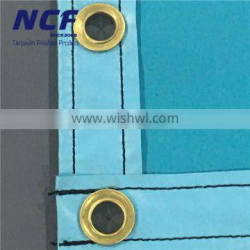 610Gsm Double Side Lacquer Coated Pvc Truck Tarpaulin Sheet