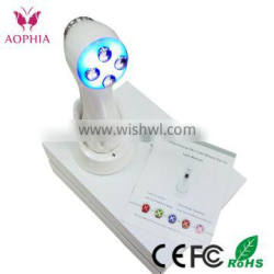New RF face lifting anti-wrinkle and aging 6 in 1 beauty portable microdermabrasion machine