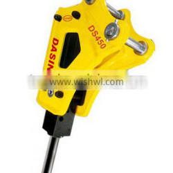 Durable in use new design hydraulic pneumatic rock hammer DS450/SB20