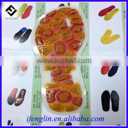 made in china foot care top quality magnetic reflexology insoles