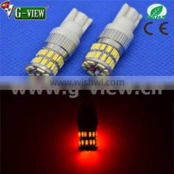 2016 T10 tail light and interior light 3014 36smd led bulbs car led light for all cars AVAILABLE