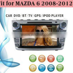 dvd car fit for Mazda 6 2008 - 2012 with radio bluetooth gps tv