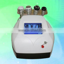 Most competitive price for you with professional 4 treatment handles to do face and body rf cavitation fat reducing machine