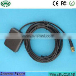 Yetnorson Antenna Manufacturer SMA Male Connector Magnetic Mount RG174 3M cable 28dBi glonass gps antenna