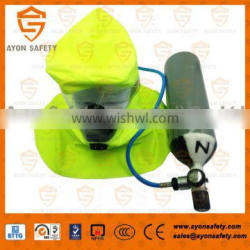 Emergency Escape Breathing Device(EEBD) self rescue equipment with 3L steel tank/ mining self rescuer- Ayonsafety