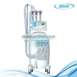 Hot selling Pain free IPL hair removal machine with SHR+SR+RF handles