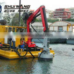 China High Quality Sand Suction Dredger with Submersible Pump for sale