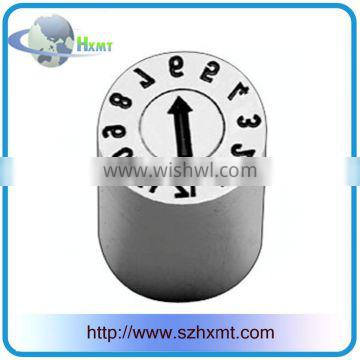 Mold parts IIA round Date stamp with blank arrow from China factory/supply