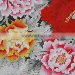 Glossy Silky Satin Cloth for china traditional painting