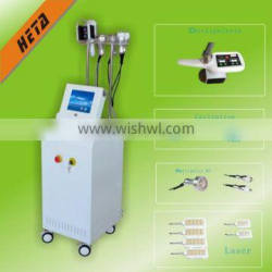 Heta H-3009 portable cavitation rf fat burning effective laser vibrating cellulite reduction slimming