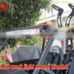 Hot sale led light bar mount bracket for polaris RZR 1000 & RZR 900 07-16