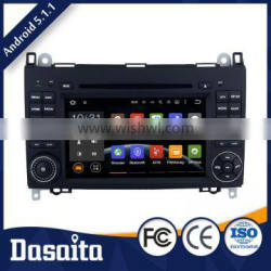 7 Inch Efficient Heat Dissipation car radio dvd with gps mirror for benz