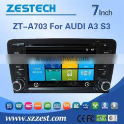 win8 tablet double din car dvd player for AUDI A3 S3 with Rear View Camera GPS BT IPOD TV Radio RDS