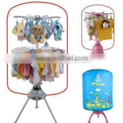 110V floding mini baby portable clothes dryer stand