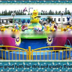 factory direct sales china funny kiddie rides snail attacking team