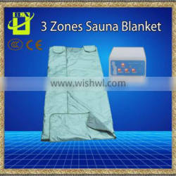 Personal use Portable 3 zone heating blanket far Infrared Sauna instrument