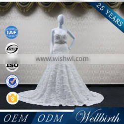 Wholesale Clothing Out Door Sexy Beach Wedding Dress