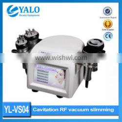 Y-VS04 CE Approved Ultrasonic RF Vacuum Cavitation Machine for fat removal